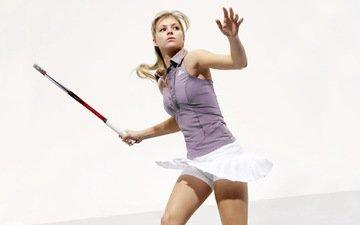 tennis, racket, maria kirilenko