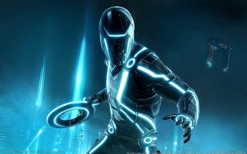 tron evolution, трон, game wallpapers