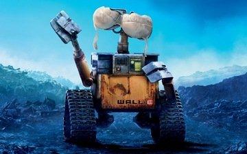 робот, бюстгальтер, валл-и