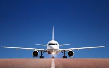 небо, дорога, самолет, авиация, полоса, аэропорт, roads, airplanes, взлетная, летают, разгон, sky wallpapers