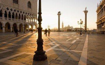 венеция, италия, площадь, сан-марко
