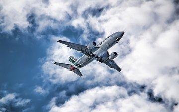 небо, фото, авиация, самолеты, широкоформатные