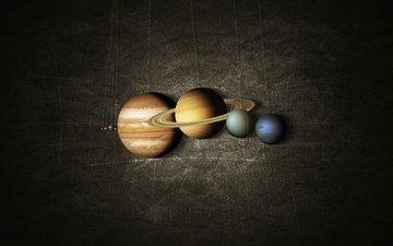 earth, planet, neptune, mercury, venus, jupiter, map, system, mars, saturn, solar, on a string, uranium