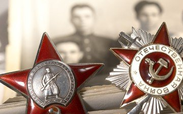photo, victory day, awards, may 9