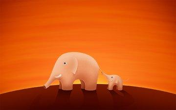 слон, слоник, хобот