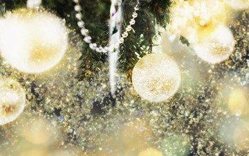 огни, новый год, елка, обои, украшения, настроение, фон, гирлянды, игрушки, праздник, веселье