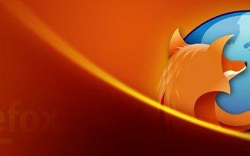 лиса, фаерфокс, оранжевая