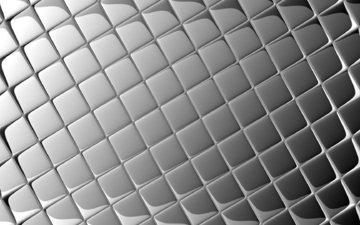 серый, блики, квадраты