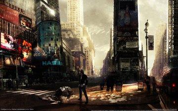 город, нью-йорк, прототип