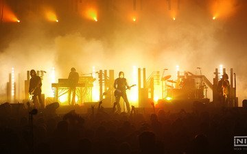 music, concert, nine inch nails