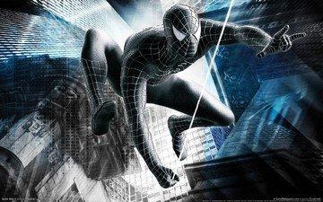 человек, герой, паук, мужик, защитник