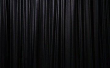 черный фон, занавес, штора