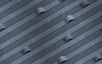 серый, изгибы, ленты