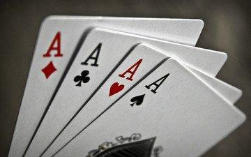 макро, карты, буквы, масть, игры, знаки, масти, символы, тузы