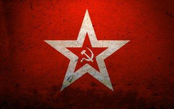 серп, молот, ссср, красная звезда