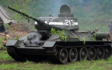 tank, victory, wwii, t-34