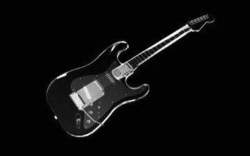 гитара, струны, рентген