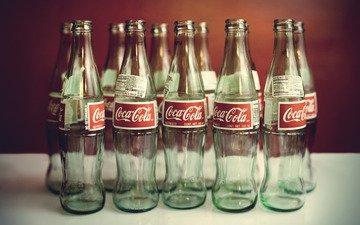 вода, стиль, настроение, напитки, бутылки, кока-кола