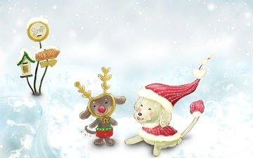 снег, новый год, зима, детство, сказка