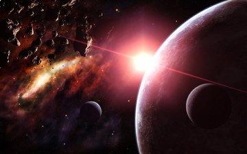 звезды, планеты, астероиды