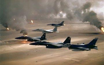 война, шторм, операция, пустынный
