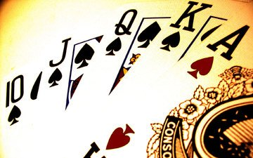 покер, карты, роял флеш