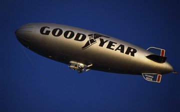the airship, dirigible, airship, goodyear