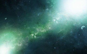 свет, космос, звезды, планеты, planets, космическая, туманности, звезд