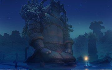 ночь, воин, ether saga online, tomythao