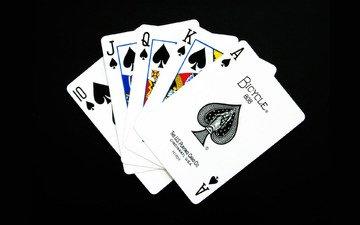 покер, карты, масть, флеш-рояль