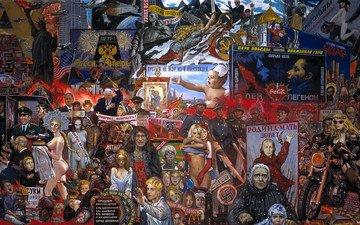 капитализм, илья глазунов, политика, коммунизм, рынок нашей демократии