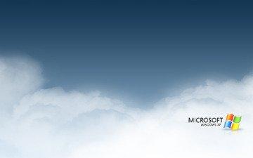 облака, компы, ос, майкрософт, винда