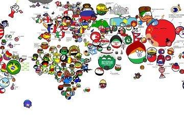 круги, флаги, политика, страны, символика, политическая карта, маскоты
