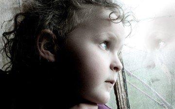 отражение, портрет, ребенок, otrazhenie, rebenok, portret