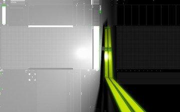 свет, зелёный, серый