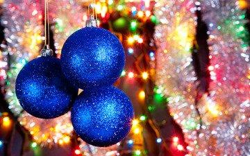 огни, шары, цвета, украшения, радость, блики, блеск, праздник, елочные игрушки, фонарики, дождик, мишура, новогодние игрушки, новогодний шар