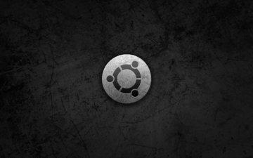 лого, метал, ос, бубунту, в стиле