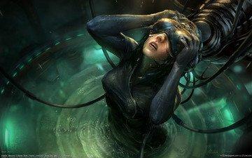 вода, шлем, губы, виртуальность