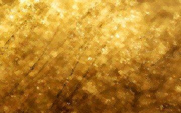 вода, желтый, текстура, фон, золото