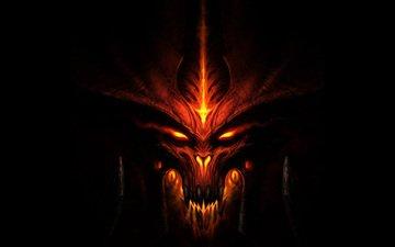 рожа, монстр, игра, темнота, дьябло 3