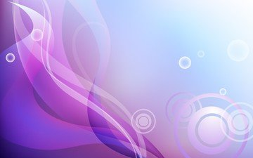 background, vector, minimalism, circles, curves