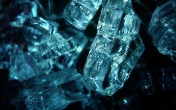 лёд, осколки, стекло