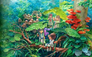 фентези, детство, сказка, дождик