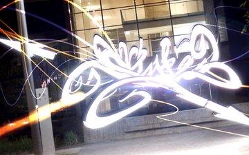 графитти, ноч, в стиле