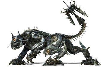 робот, трансформеры, киса