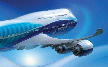 самолет, боинг, 787, somolet