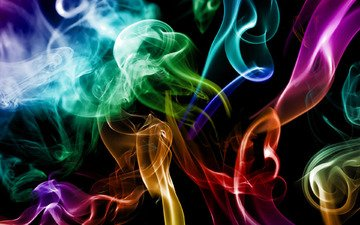 абстракция, цвета, дым, креатив, colours