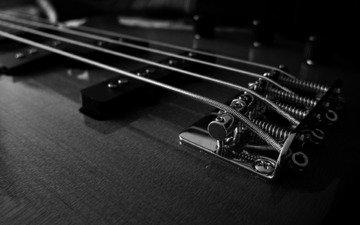 гитара, струны, чб