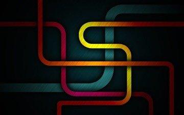 полосы, линии, цвета, летны