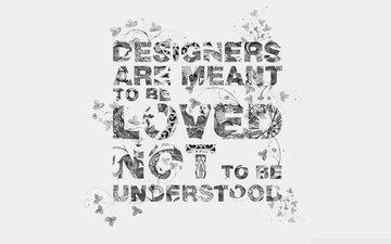 обои, дизайн, слова, буквы, узоры, минимализм, креатив, creative wallpapers, дезайн